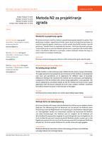 prikaz prve stranice dokumenta Metoda N2 za projektiranje zgrada