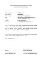 prikaz prve stranice dokumenta VREMENSKO PLANIRANJE PRIMJENOM METODE KRITIČNOG LANCA