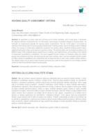 prikaz prve stranice dokumenta HOUSING QUALITY ASSESSMENT CRITERIA