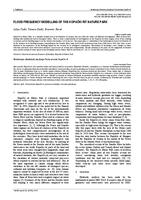 prikaz prve stranice dokumenta FLOOD FREQUENCY MODELLING OF THE KOPAČKI RIT NATURE PARK